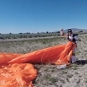 Aterrizaje paracaidista